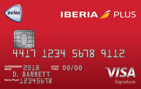Iberia Visa Signature Credit Card (Photo: Business Wire)