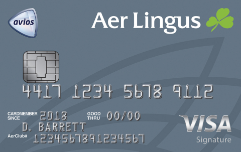 Aer Lingus Visa Signature Credit Card (Photo: Business Wire)
