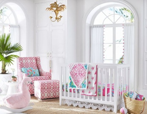 Lilly Pulitzer for Pottery Barn Kids Nursery (Photo: Business Wire)