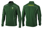 Columbia's quarter zip long sleeve shirt featuring MLS team Portland Timbers (Photo: Business Wire)