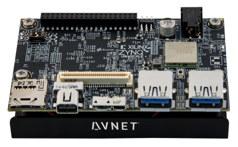 Avnet's new Ultra96 Board brings programmable logic functionality to popular 96Boards Consumer Specification. (Photo: Business Wire)