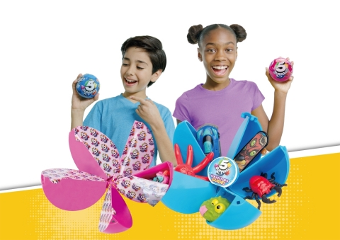 """ZURU™ launches 5 SURPRISE™, an innovative new """"blind bag"""" capsule toy that combines the magic of unboxing with the thrill of collectable toys. (Photo: Business Wire)"""