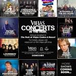 Viejas Casino & Resort anuncia una serie de conciertos de verano de 2018