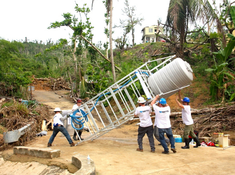 On World Water Day, Watts will fund and help install two water filtration systems that provide clean drinking water for children and families in need in Puerto Rico. (Photo: Business Wire)