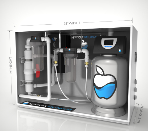 New York WaterMaker is the only product that can molecularly replicate any region's source water (Ph ...