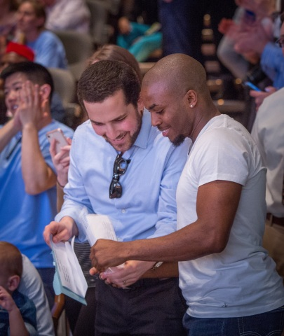"""UNC School of Medicine students share their residency """"matches"""" on Match Day 2018. (Photo: Business Wire)"""
