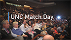 "UNC School of Medicine students learn where they'll complete their residencies on ""Match Day"" 2018."