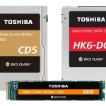 Toshiba Memory Corporation Releases Enhanced Data Center SSD Line-up with 64-Layer 3D Flash Memory