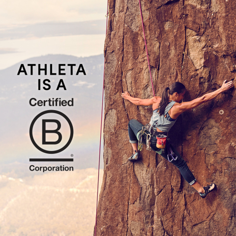 Athleta Earns B Corp Certification (Photo: Business Wire)
