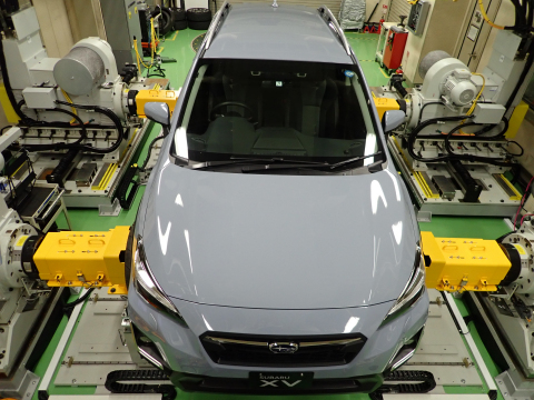 NI hardware-in-the-loop (HIL) technology helps Subaru reduce electric vehicle development test time and costs. (Photo: Business Wire)