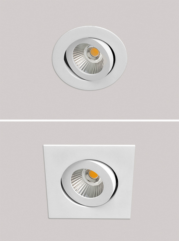 ESSENZIALED Mood-Round & Square spotlights with SunLike LEDs (Photo: Business Wire)