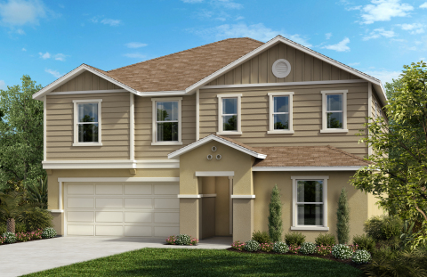 New KB homes are now available at Magnolia at Westside. (Photo: Business Wire)