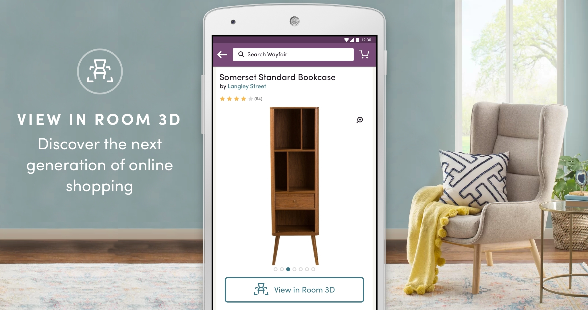 Wayfair Mobile Shopping App Can Turn Virtually Every Home Into A