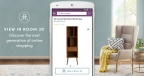Wayfair mobile shopping app leverages AR to turn virtually every home into a furniture showroom (Graphic: Business Wire)