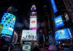 Midea image for Nasdaq & Reuters billboards at Times Square (Photo: Business Wire)