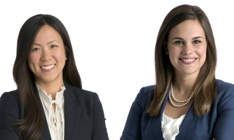Dorsey Associates Rachel Benedict and Andrea Ahn Wechter have been selected for the 2018 Leadership Council on Legal Diversity (LCLD) Pathfinders Program. (Photo: Dorsey & Whitney LLP)