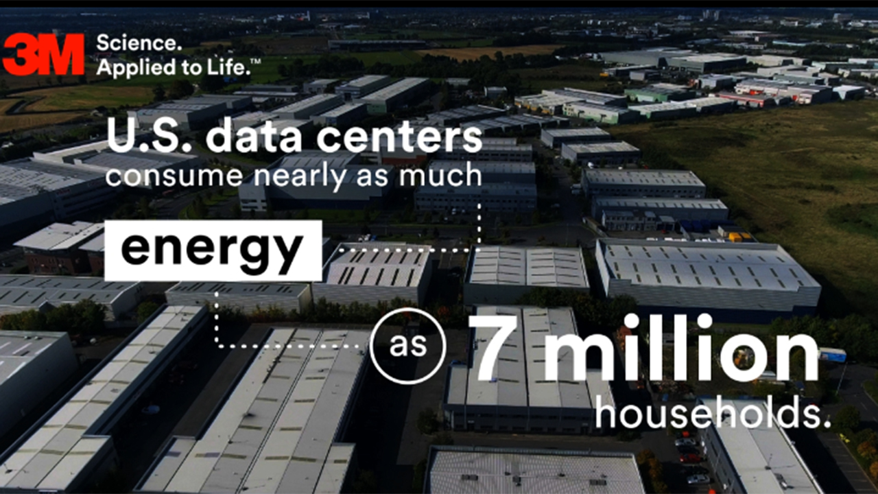 U.S. data centers consume nearly as much energy as seven million households.