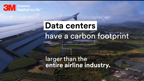 Data centers have a carbon footprint larger than the entire airline industry.