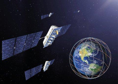 LeoSat Data Network Constellation (Graphic: Business Wire)