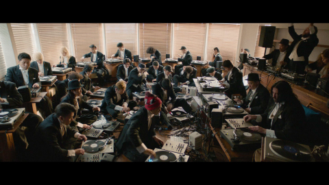 World's First Full Turntable Orchestra organized by Technics (Photo: Business Wire)