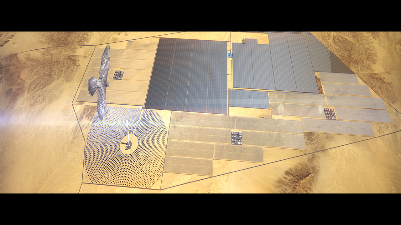 Dubai breaks ground on world's biggest CSP project (Video: AETOSWire)