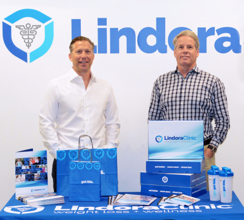 "Lindora's CEO, Will Righeimer, and Vice President of Marketing, Steve Patterson, have revamped Lindora's marketing approach and launched a new advertising campaign called ""For Anyone"" which touts programs for around $3 a day. (Photo: Business Wire)"
