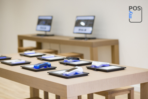 An interior view of the myPOS London Store (Photo: Business Wire)