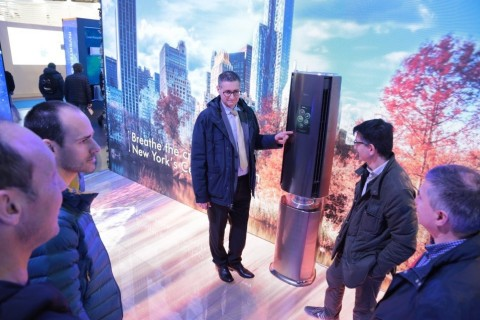 Midea's MicroclimateAirConditioner displayed at MCE2018