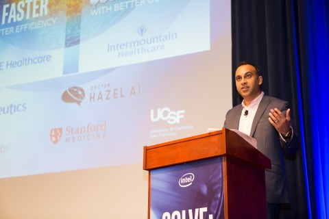 Navin Shenoy, executive vice president and general manager of the Data Center Group at Intel Corpora ...