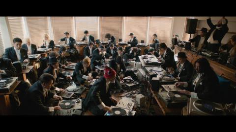 Technics组织的全球首个全黑胶唱机交响乐团(照片:美国商业资讯)