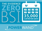 POWERWAND midlines and extended-dwell catheters reach an unprecedented 35,000 catheter-days with zero associated bloodstream infections. (Graphic: Business Wire)