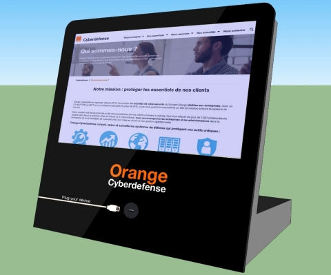 """Malware Cleaner from Orange Cyberdefense is now available in a """"mini-terminal"""" version. Source: Orange"""