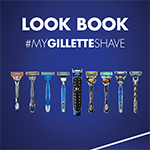 Grooming Look Book created for Gillette event held March 20, 2018.