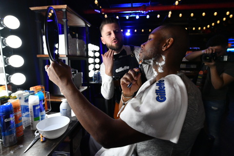 During a Gillette event in NYC, guests learn about Gillette's newly innovated razors, recognizing guys' unique differences and offering even easier access to a more comfortable shave at a more comfortable price. (Photo: Getty Images for Gillette)