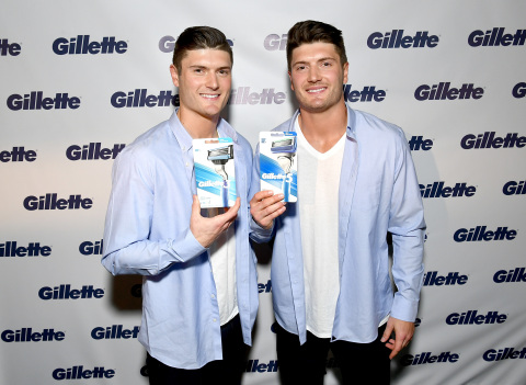 "With the help of Jacob and Cody Hollister, Gillette shares the top grooming trends of 2018 with a declaration that ""one size"" does not fit every man when it comes to razors. (Photo: Getty Images for Gillette)"
