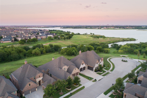 The Tribute Lakeside Community is a 1,600-acre master-planned community in The Colony, Texas. (Photo: Business Wire)