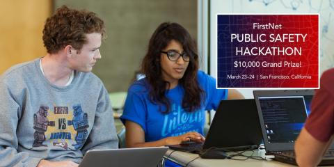 Esri, the global leader in spatial analytics, today announced that it will sponsor the FirstNet Public Safety Hackathon in San Francisco, March 23–24. (Photo: Business Wire)