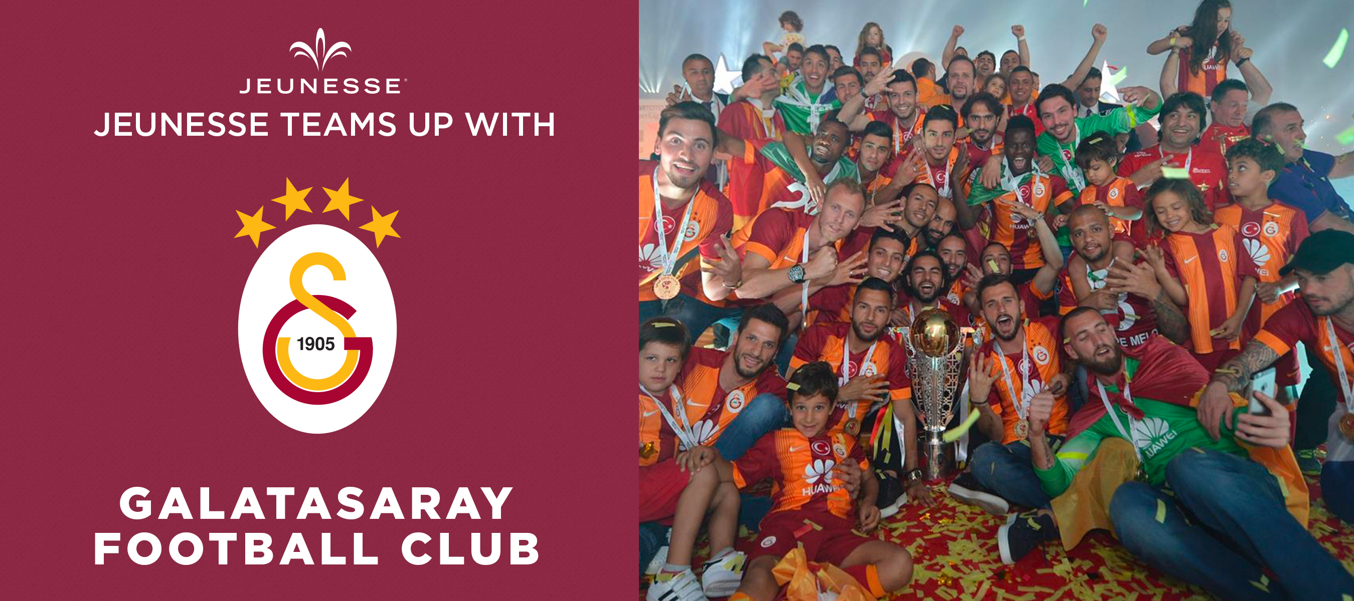 Jeunesse Announces Sponsorship Of Turkish Football Club Galatasaray Sk Business Wire