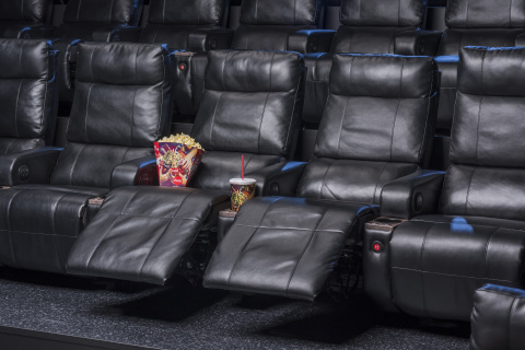 Cinemark announced that it will remodel its Cinemark Lufkin 12 Theatre and will be adding Luxury Lounger reclining seats to all auditoriums. (Photo: Business Wire)