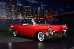 This 1957 Cadillac Eldorado Biarritz Convertible has been restored to run and drive beautifully. Bid on this and hundreds of other collector cars online on Proxibid during the 16th Annual Barrett-Jackson Palm Beach Auction. (Photo: Barrett-Jackson Collector Car Auction)