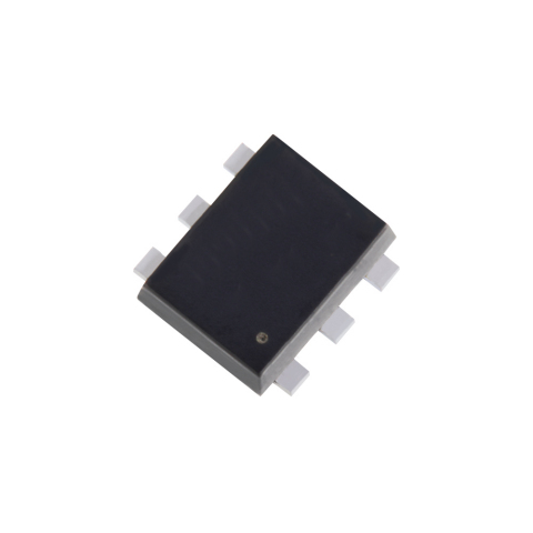 """Toshiba: A dual MOSFET """"SSM6N813R"""" with high ESD protection positioned for use in automotive applications, including as a driver IC for headlight LEDs. (Photo: Business Wire)"""