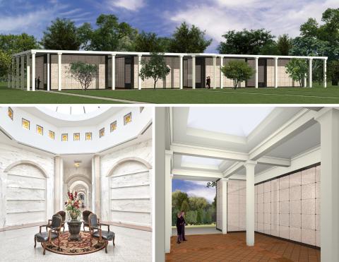 The Boca Raton Mausoleum announces a new $2 million addition. Construction of 4 new mausoleum buildings is about to commence. http://www.bocaratonmausoleum.com/ (Photo: Business Wire)