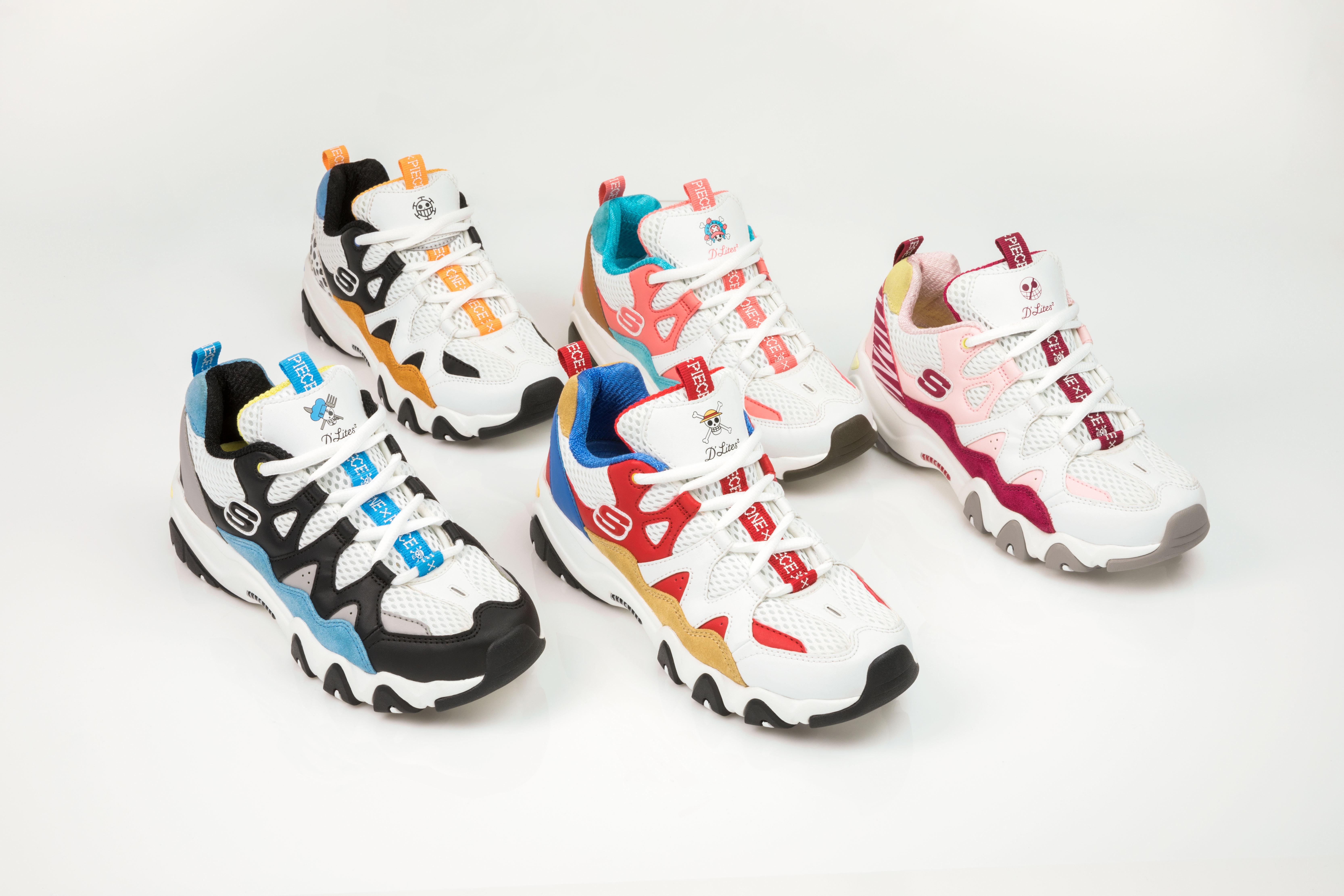 Limited Edition Skechers D'Lites \u0026 Toei