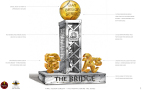 The Bridge during the Bay Bridge Series (Graphic: Business Wire)