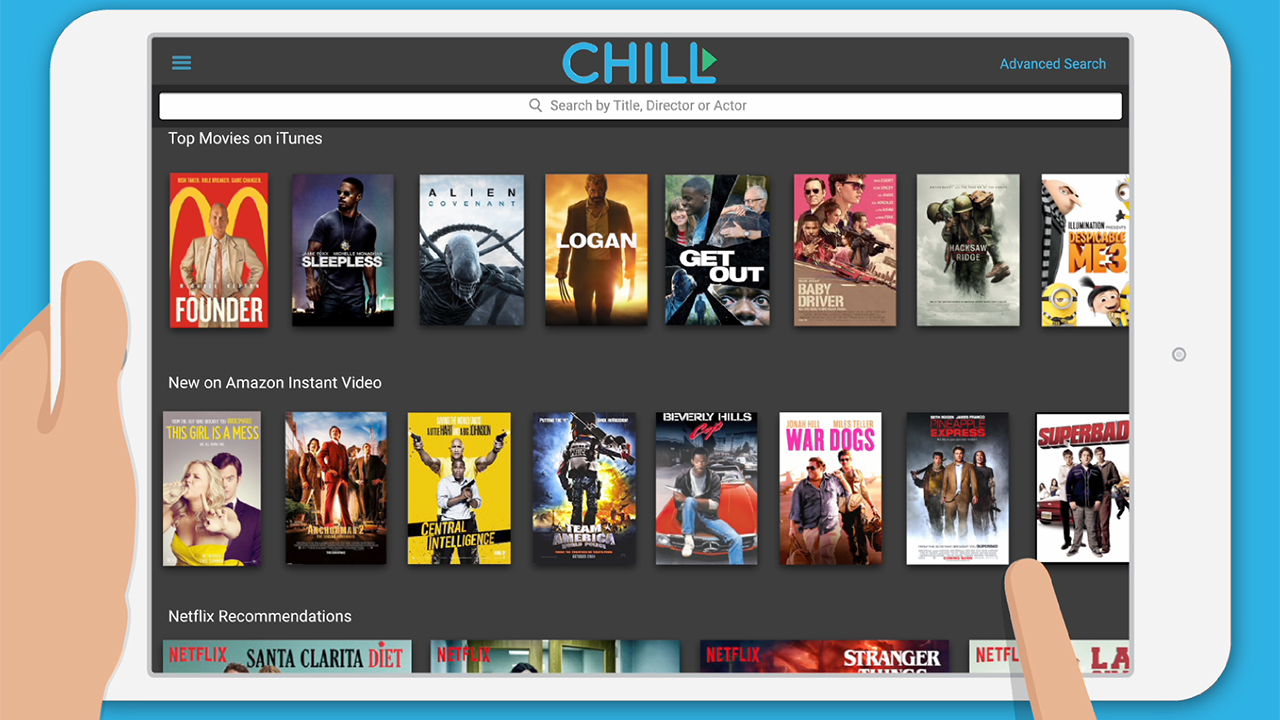 """Cellular One Launches New TV & VoD Search and Discovery App, Called """"Chill VoD"""" Powered ByVennetics"""