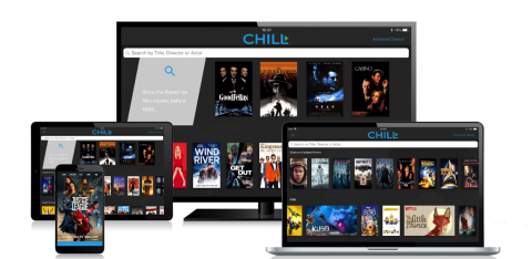 """Cellular One Launches New TV & VoD Search and Discovery App, Called """"Chill VoD"""" Powered By Vennetics (Photo: Business Wire)"""