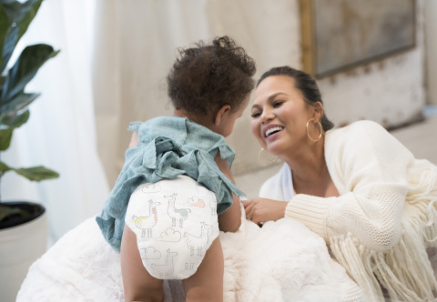 In a brand new video released today, Teigen and other moms share their heartwarming stories of unconditional love and no compromise. (Photo: Business Wire)