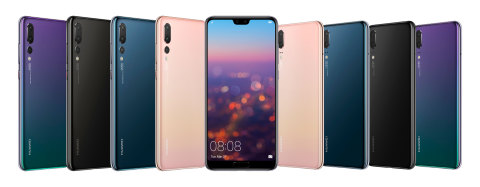 Huawei Unveils the HUAWEI P20 and HUAWEI P20 Pro, Breakthroughs in Technology and Art to Redefine Intelligent Photography (Photo: Business Wire)