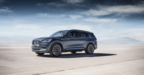 Aviator glides into New York this week, offering a preview of The Lincoln Motor Company's newest vehicle along with a glimpse into the brand's future, which is moving toward a broader portfolio of utilities and electrification in conjunction with effortless services. (Photo: Business Wire)