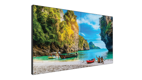 Leyard and Planar introduce the Planar VM Series - ultra-narrow bezel LCD video walls for seamless, high-impact video walls (Photo: Business Wire)